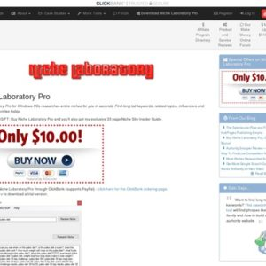 Niche Laboratory Pro: Niche Research Software For Professional Bloggers