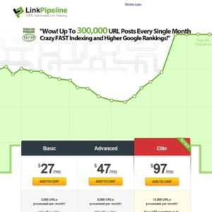 #1 Best Link Indexing Service - 100% Automated Backlinking! LinkPipeline.com